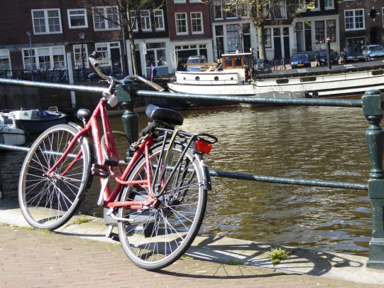 The streets if amsterdam